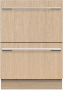 Panel Ready Dishwasher Fisher & Paykel DD24DI9N Double DishDrawer Panel Ready