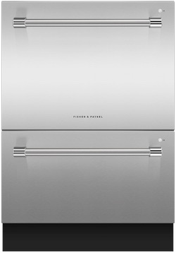 Fisher & Paykel Dishwasher Reviews - DD24DV2T9N Tall Double DishDrawer Pro Handles