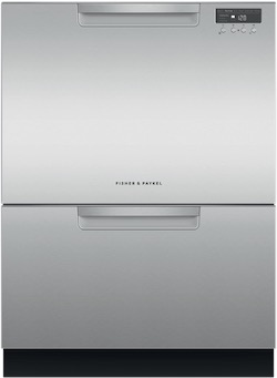 Fisher & Paykel Dishwasher Reviews - DD24DCTX9N Double DishDrawer Tall Pocket Handles
