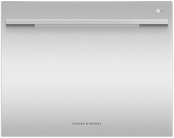 Fisher & Paykel Dishwasher Review - DD24SDFTX9N Single Tall DishDrawer Straight Handles