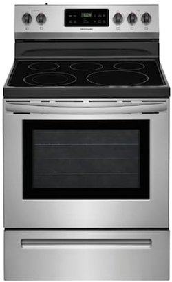Best Electric Range for the Money Frigidaire vs GE - Frigidaire FFEF3054TS Electric Range
