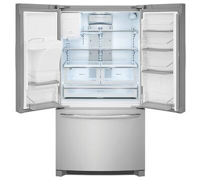 French door refrigerator interior - Frigidaire Gallery FGHD2368TF