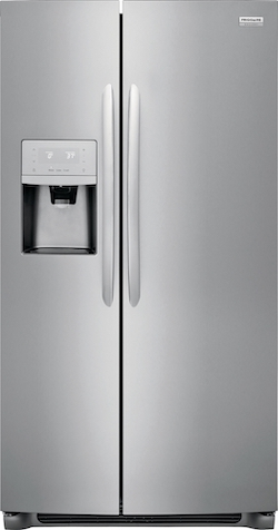 Best Counter Depth Refrigerator Frigidaire Gallery FGSC2335TF Side by Side