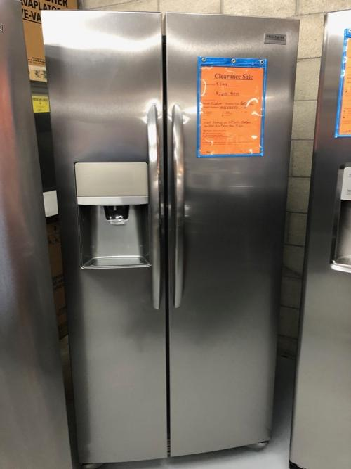 Frigidaire Gallery FGSS2335TF Side by Side Refrigerator Clearance