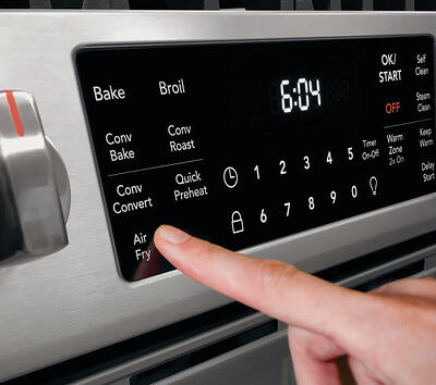 Frigidaire Stove with Air Fry - Control Panel Buttons