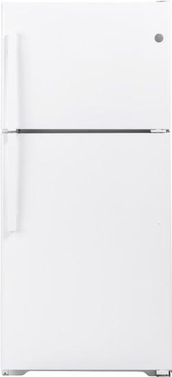 GE Appliances GTS19KGNRWW Top Freezer Refrigerator