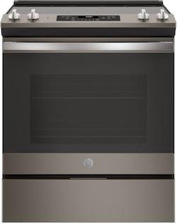GE Slate Appliances JS660ELES Slide in Electric Range
