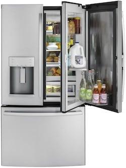 Door in Door Refrigerator_GE GFD28GSLSS French Door in Door Refrigerator
