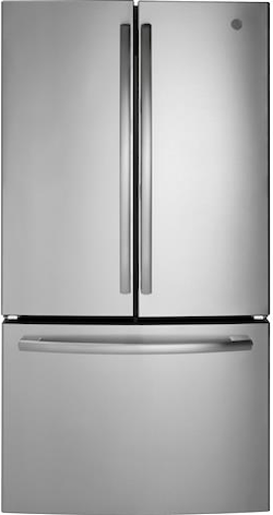 GE GNE27JSMSS French Door Refrigerator