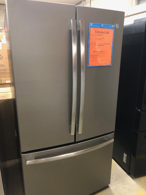 GE GNE29GMKES French Door Refrigerator Clearance