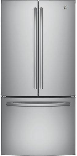 Best Counter Depth Refrigerator - GE GWE19JSLSS French Door Refrigerator