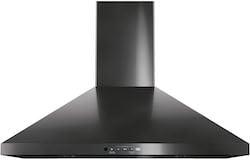 Black Stainless Steel Range Hoods GE JVW5301BJTS