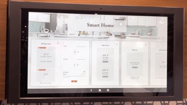 GE Kitchen Hub Smart Appliance Connection Demonstration
