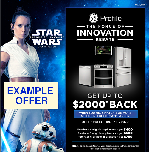 GE Profile Example Rebate 2020 Appliance Packages-1