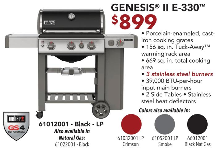 Genesis E-330 2020