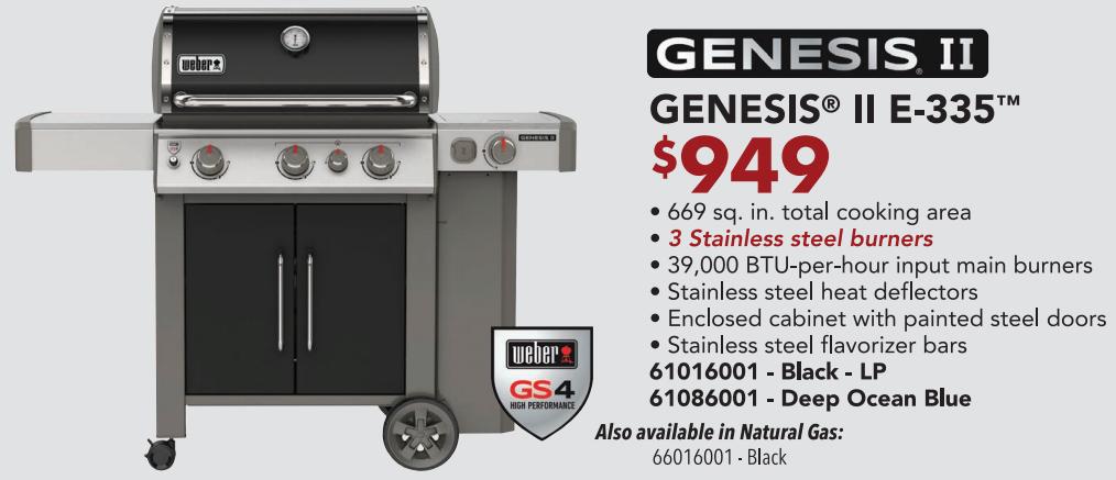 Genesis E-335 2020