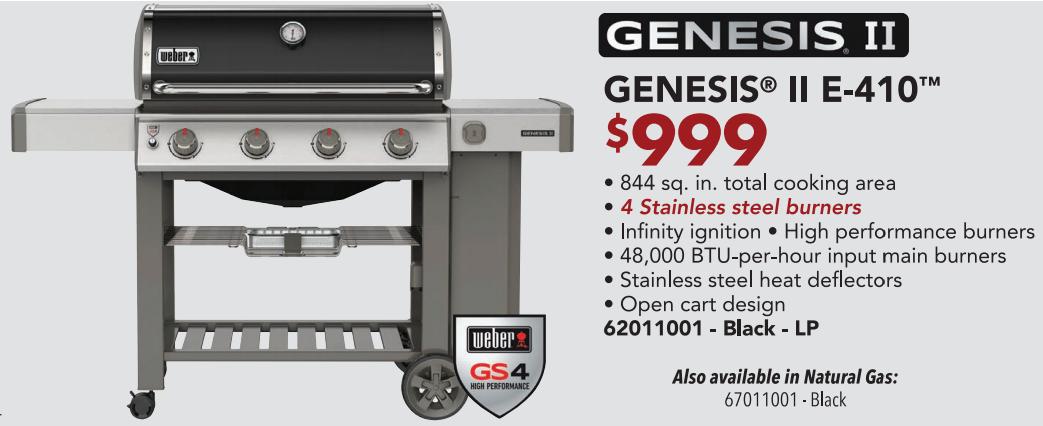 Genesis E-410 2020