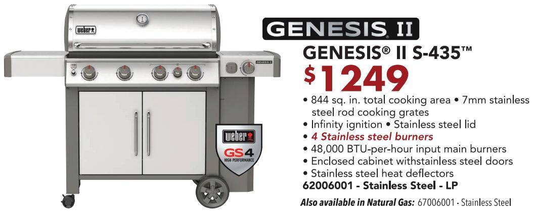 Genesis S-435 2020