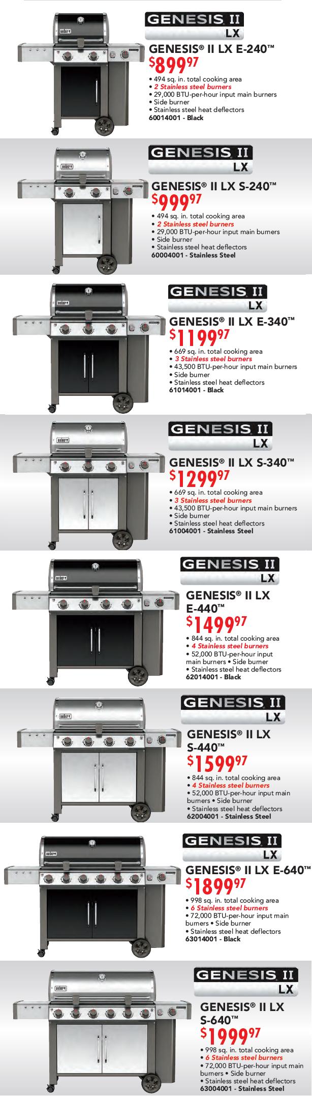Weber Genisis II LX Models Banner 05.08.17-2