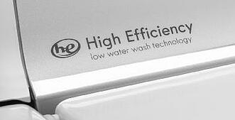 HE Symbol High Efficiency Top Load Washer Symbol