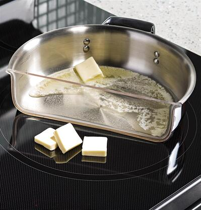 Induction Cooking Burner Example - GE PHB920SJSS