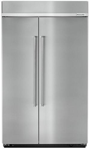 KitchenAid KBSN608ESS Built-In Side-by-Side Refrigerator