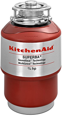 KitchenAid KCDS075T Continuous Feed Food Waste Disposer