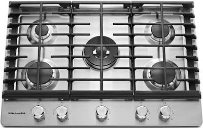 KitchenAid KCGS550ESS Gas Cooktop