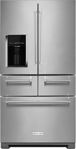 KitchenAid KRMF706ESS French Door Refrigerator with Drawers