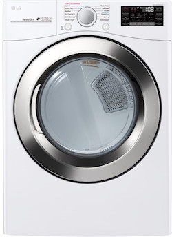 LG DLEX3700W Front Load Electric Dryer