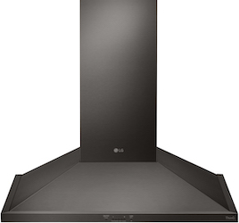 LG HCED3015D Chimney Range Hood Black Stainless