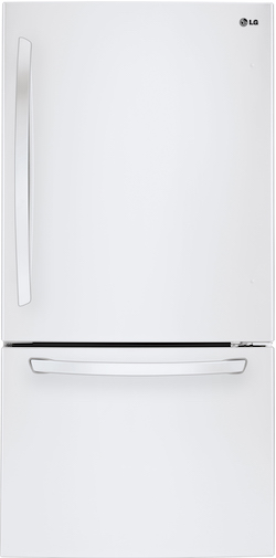 LG LDCS24223W Bottom Freezer Refrigerator
