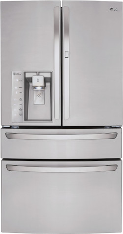LG LMXS30776S Four Door French Door Refrigerator
