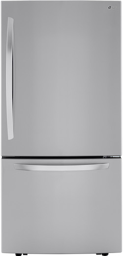 LG LRDCS2603S Bottom Freezer Refrigerator-1