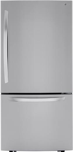 LG LRDCS2603S Bottom Freezer Refrigerator