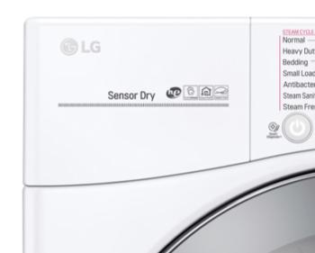 LG Sensor Dry Logo Closeup from LG Website
