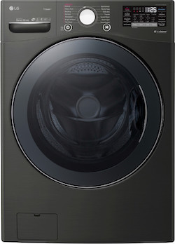LG WM3900HBA Black Steel Front Load Washer