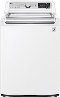 LG WT7305CW Top Load Washer with Agitator