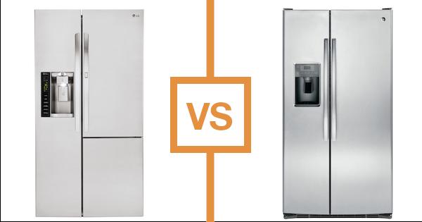 LG vs GE Side by Side Refrigerator