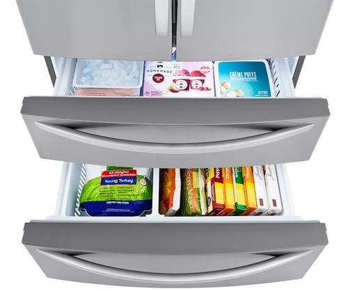 LMWC23626S Freezer Interior Filled
