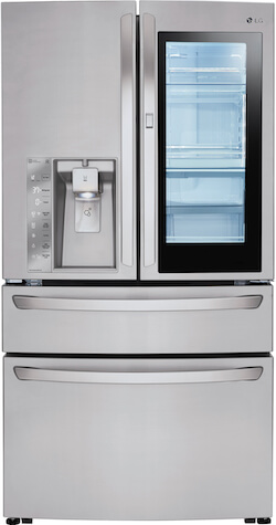 Largest French Door Refrigerator - LG LMXS30796S