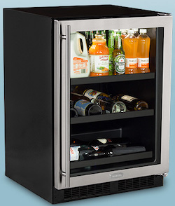 Best Beverage Cooler - Marvel ML24BCG1RS Beverage Cooler