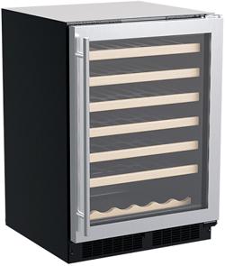 Marvel MLWC124SG01A Single Zone Wine Refrigerator