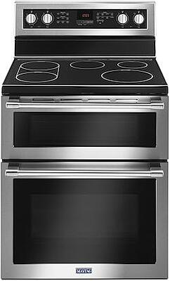 Maytag Electric Range Reviews - Maytag MET8800FZ Double Oven Electric Range