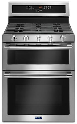 Maytag Gas Range Reviews - Maytag MGT8800FZ Double Oven Gas Range