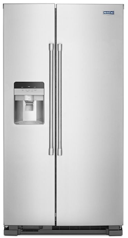 Maytag MSS25C4MGZ Side by Side Refrigerator from Maytag Website