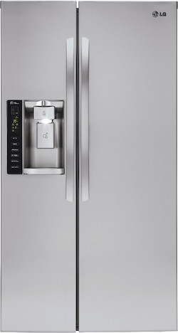 Largest Side by Side Refrigerator - LG LSXS26326S