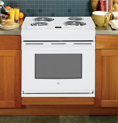 Drop In Range_GE Appliances JDS28DFWW Lifestyle Image