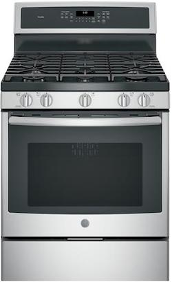 Steam Clean Oven with Self Clean - GE PGB930SEJSS