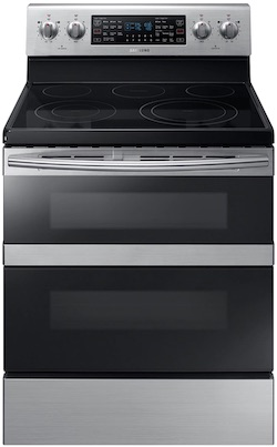 Samsung Flex Duo Double Oven Electric Range NE59M6850SS